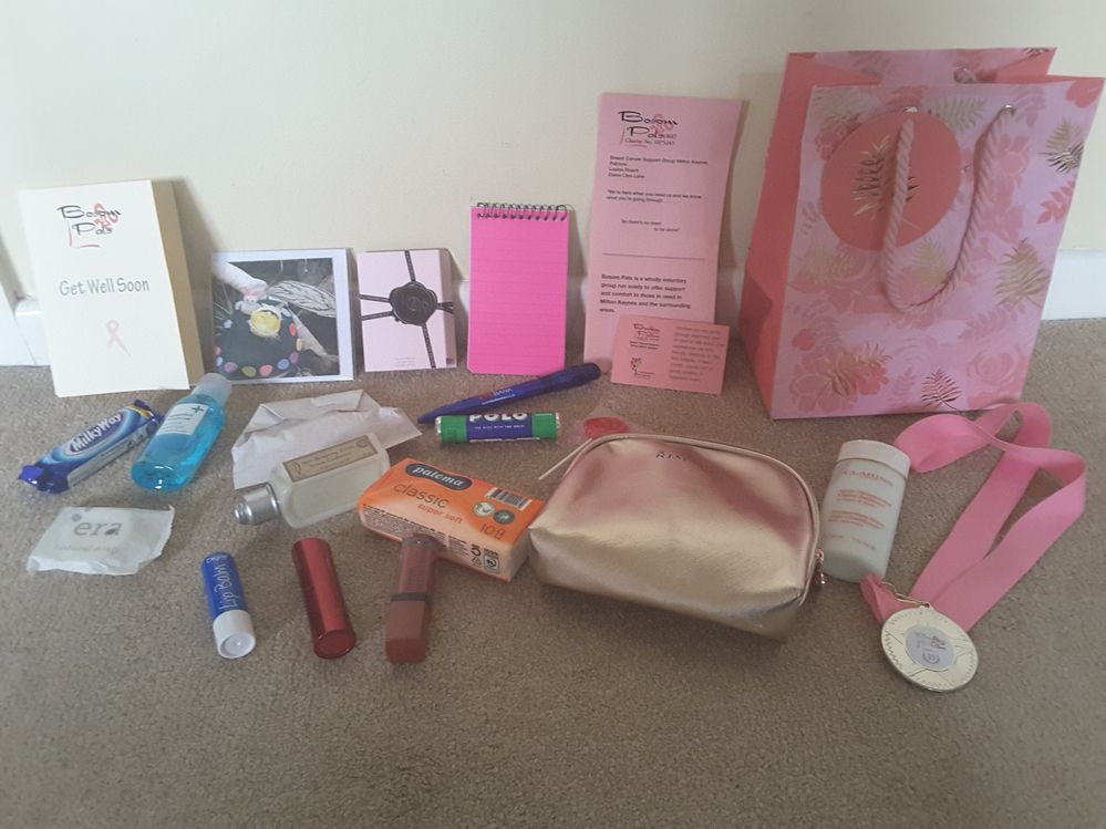 My first goody bag of the week!