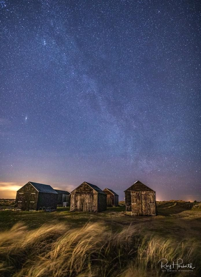 Night sky at Winterton