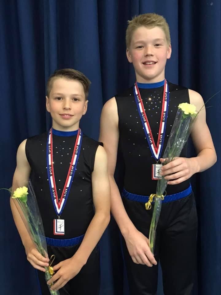 Danny and his partner win silver in acro under 14