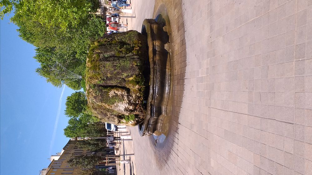 Aix is famous for its many fountains
