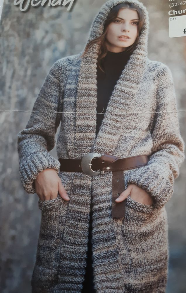 Photo of knitting pattern